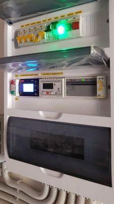 تعمیر سردخانه هوشمند مجهز به PLC و HMI